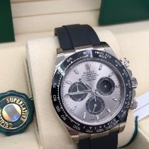 Rolex Daytona White gold 40mm Silver No numerals United States of America, Illinois, Springfield