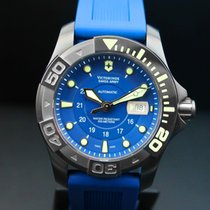 维氏瑞士军  Dive Master 500 钢 43mm 蓝色