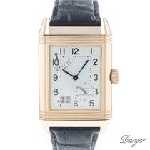 Jaeger-LeCoultre Reverso Grande Date Rose gold 29.2mm Silver Arabic numerals