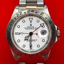 Rolex Explorer II Steel 40mm White No numerals United States of America, New York, Troy