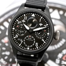 IWC Big Pilot Top Gun Ceramika 48.5mm Czarny Arabskie