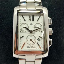 Paul Picot American Bridge Acero 44mm Blanco