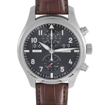 IWC Pilot Spitfire Perpetual Calendar Digital Date-Month nuevo Automático Reloj con estuche y documentos originales IW379107