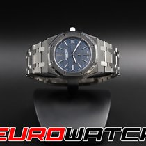 Audemars Piguet Royal Oak Jumbo Steel 39mm Blue No numerals United States of America, California, Costa Mesa