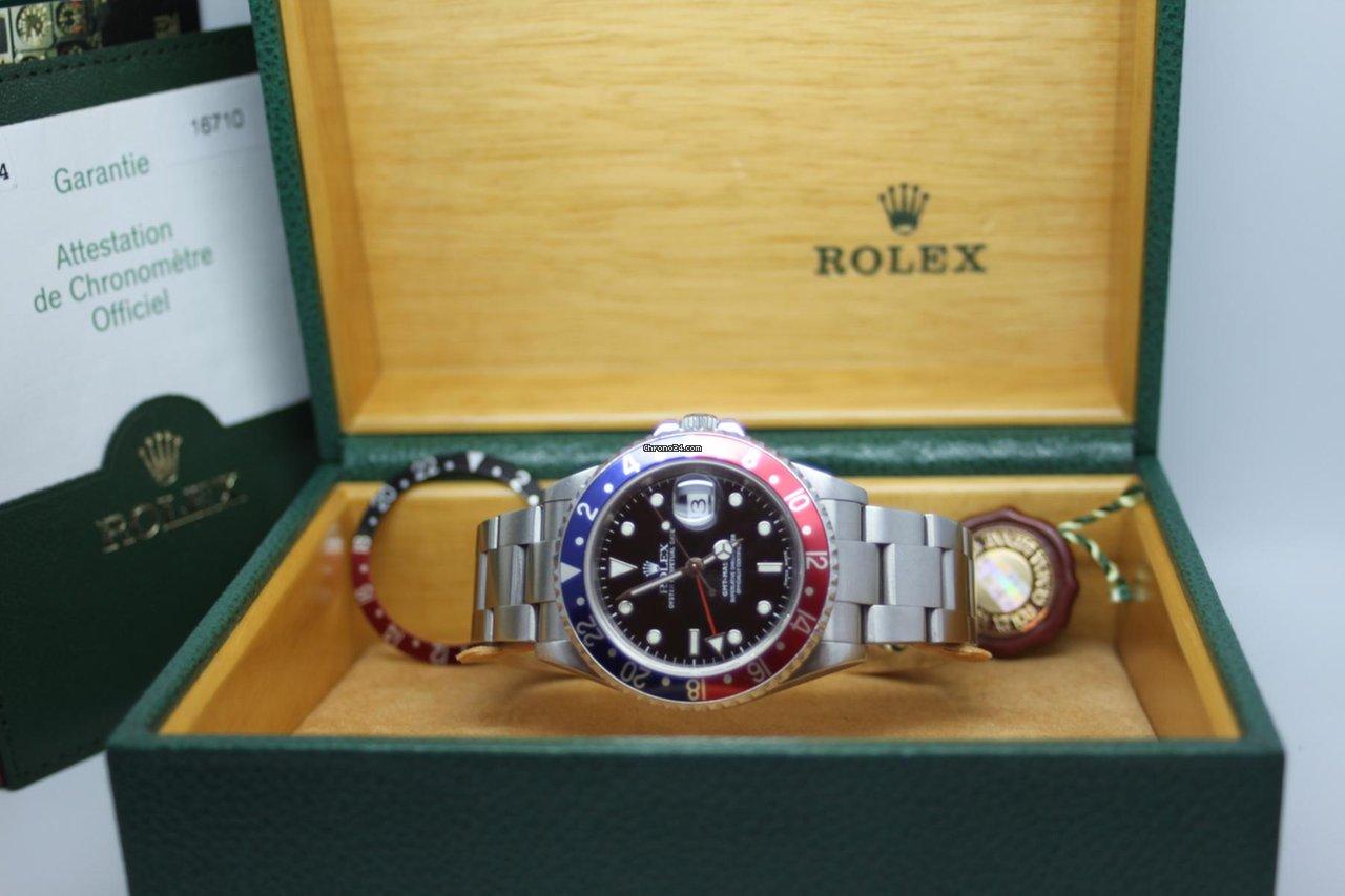 Master P 16710 Ii Serie Gmt B D Rolex vNOwmn80