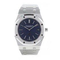 Audemars Piguet Royal Oak Jumbo Acier 39mm Bleu France, Paris