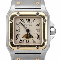 Cartier Santos Galbée Gold/Steel 24mm White Roman numerals United States of America, New York, Massapequa Park