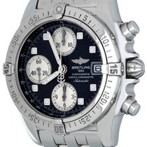 Breitling Chrono Cockpit Steel 39mm Black No numerals United States of America, Texas, Dallas