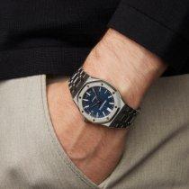Audemars Piguet Royal Oak Selfwinding Acier 37mm Bleu