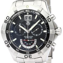 TAG Heuer Steel 44mm Quartz CAF101A pre-owned