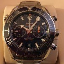 Omega Seamaster Planet Ocean Chronograph Acier 45.5mm Bleu Arabes