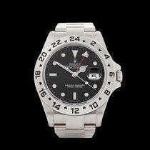 Rolex Explorer II Rehaut Stainless Steel Gents 16570 - W4368