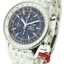 Breitling a2432212/b726-ss Navitimer World Chronograph in...