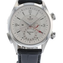 Tudor Heritage Advisor 79620T Watch with Leather Bracelet and...
