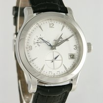 Jaeger-LeCoultre 40mm Automatic 2005 pre-owned Master Hometime Silver