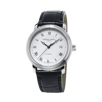 Frederique Constant Classics Automatic Staal 40mm Zilver Romeins Nederland, Den Haag