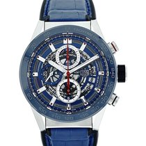 TAG Heuer Carrera 43mm Automatic Skeleton Dial