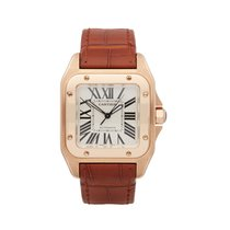 Cartier Santos 100 W20108Y1 or 2879 2010 pre-owned