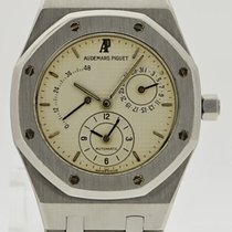 Audemars Piguet Royal Oak Dual Time - Full Set - Cream Dial