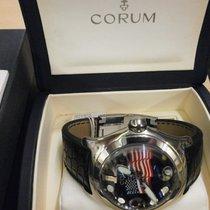 Corum 45mm Quartz 2010 pre-owned Bubble Black