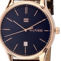 Tommy Hilfiger Steel 44mm Quartz 1791493 new