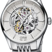 Oris Artelier Skeleton Steel 40mm Silver No numerals United States of America, Alabama, Oranjestad