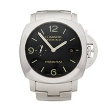 Panerai Luminor Marina 1950 3 Days Automatic folosit 44mm Negru Otel