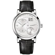 A. Lange & Söhne new Manual winding 38.5mm White gold Sapphire crystal