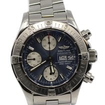 Breitling Superocean Chronograph II Steel 42mm Blue No numerals United States of America, New York, New York
