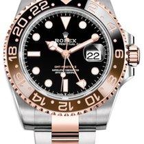 Rolex GMT-Master II Gold/Steel 40mm Black No numerals United States of America, California, Los Angeles