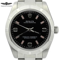 Rolex Steel Automatic Black Arabic numerals 31mm pre-owned Oyster Perpetual 31