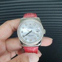 Rolex Datejust 116189 New White gold 36mm Automatic Singapore, Singapore