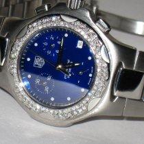 TAG Heuer Kirium Steel 34mm Blue No numerals United States of America, New York, NEW YORK CITY