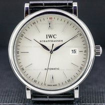 IWC Portofino Automatic Steel 40mm Silver Roman numerals United States of America, Massachusetts, Boston