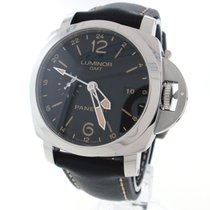 Panerai PAM00531 Steel Luminor 1950 3 Days GMT Automatic 44mm pre-owned United States of America, New York, Greenvale