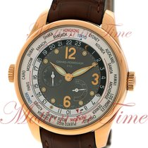 Girard Perregaux WW.TC Rose gold 41mm Grey Arabic numerals United States of America, New York, New York