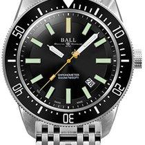 Ball Chronometer 43mm Automatik neu Engineer Master II Skindiver Schwarz