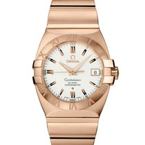 Omega Constellation Double Eagle Automatic Rose Gold Men's Watch