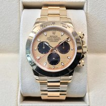 Rolex Cosmograph Daytona Yellow Gold 116528 Champagne PN Dial