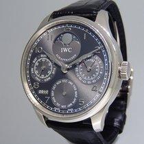IWC Portuguese Perpetual Calendar  18K White IW502307 Gold NEW