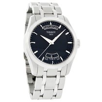 Tissot Couturier Mens Black Dial Automatic Watch T035.407.11.0...
