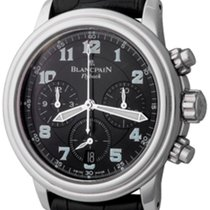 Blancpain Léman Fly-Back Steel 38mm Black Arabic numerals United States of America, Texas, Dallas