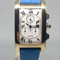 Cartier Tank Américaine Chrono Gold