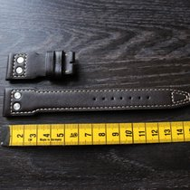 IWC 22mm brown braun leather leder strap Big Pilot