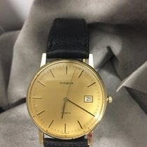 Dugena Yellow gold Quartz 33mm pre-owned