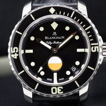 Blancpain 5008-1130-B52A Tribute to Fifty Fathoms MilSpec SS...
