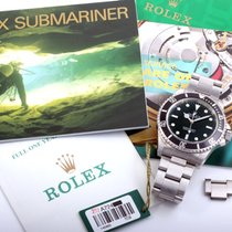 Rolex 40mm SS Submariner NO-Date 14060 complete w/ box and papers