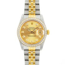 Rolex Lady-Datejust Steel 31mm Champagne No numerals United States of America, California, San Francisco