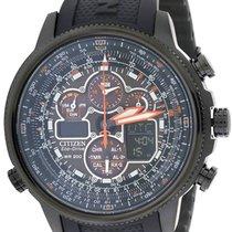 Citizen Eco-Drive Navihawk Atomic Alarm Chronograph Mens Watch...