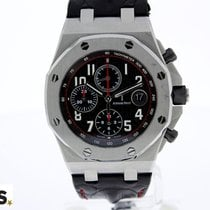 Audemars Piguet Royal Oak Offshore Chronograph Staal 42mm Zwart Arabisch Nederland, BREDA